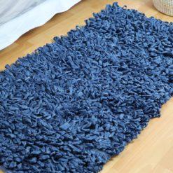 Petit bouclé, tapis fait main