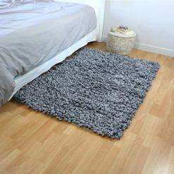 Le grand bouclé, tapis fait main