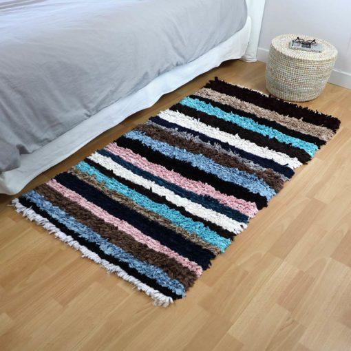 Patchwork, tapis boucherouite