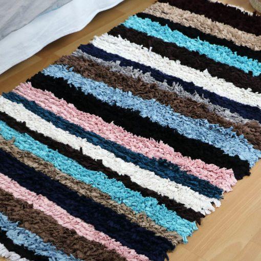 Patchwork, tapis fait main