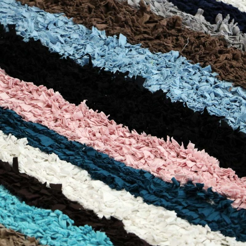 Patchwork, tapis marocain fait main