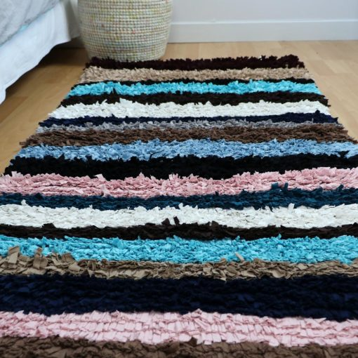 Patchwork, tapis tissu