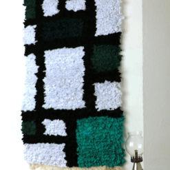Piet tissage mural tissu récup