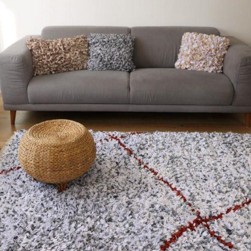 Beni art déco, tapis fait main