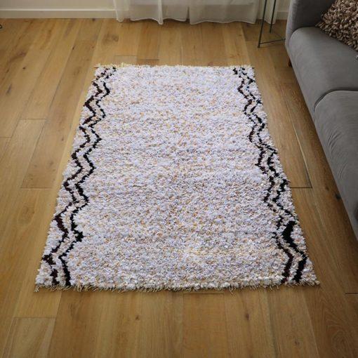 tapis boucherouite fait main l'atlas
