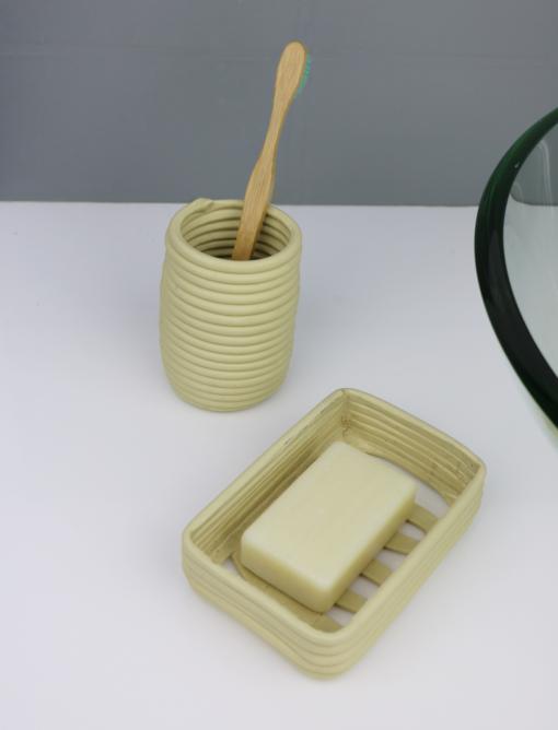 Porte savon écologique en plastique recyclé