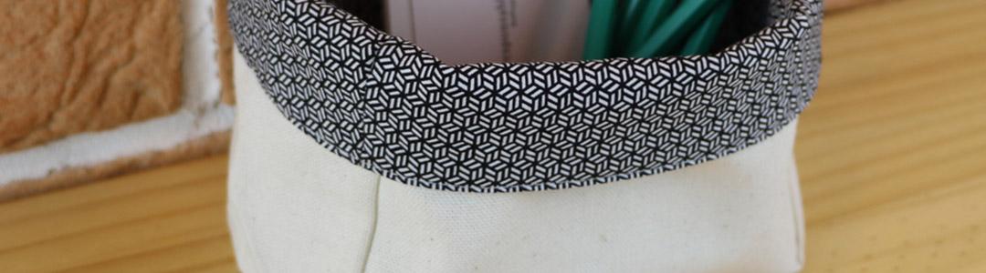 Accessoires en tissu de récup