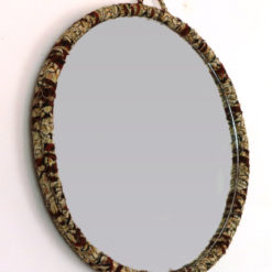 Miroir chutes de tissus Wax - Kanam