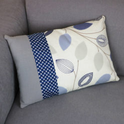 coussin upcycling éclat