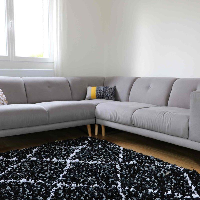 """tapis boucherouite """"élégant"""" déco marocaine"""