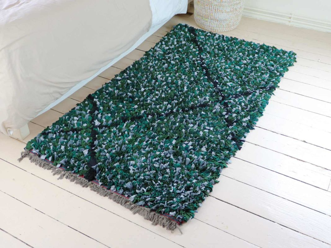 Chambre cocooning tapis